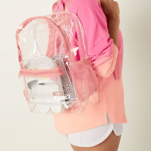 VICTORIA'S SECRET Clear Backpack